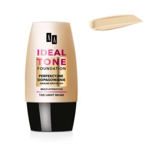 AA Ideal Tone Foundation podkład do twarzy 103 Light Beige 30ml
