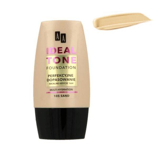 AA Ideal Tone Foundation podkład do twarzy 105 Sand 30ml