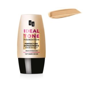 AA Ideal Tone Foundation podkład do twarzy 107 Dark Beige 30ml