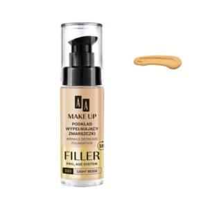 AA Make Up Filler Wrinkle Decrease Foundation Pro Age System podkład wypełniający zmarszczki 103 Light Beige 30ml