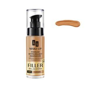 AA Make Up Filler Wrinkle Decrease Foundation Pro Age System podkład wypełniający zmarszczki 109 Caramel 30ml
