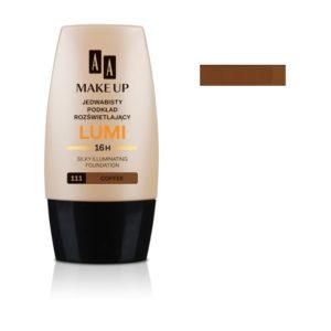 AA Make Up Lumi Silky Illuminating Foundation jedwabisty podkład rozświetlający 111 Coffee 30ml