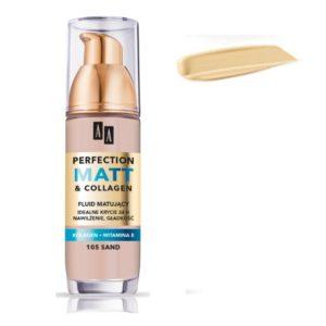 AA Perfection Matt & Collagen matujący podkład do twarzy 105 Sand 35ml