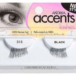 Ardell Rzęsy i akcesoria Accent 315 1 para sztucznych rzęs Black
