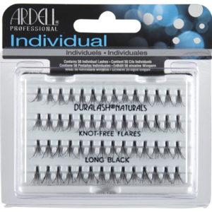 Ardell Rzęsy i akcesoria Individual Knot-Free zestaw 56 kępek rzęs Long Black