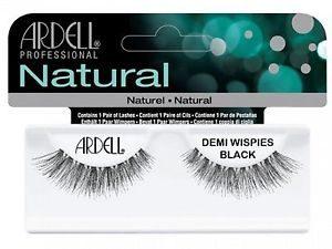 Ardell Rzęsy i akcesoria Natural Demi Wispies 1 para sztucznych rzęs Black