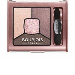 Bourjois Smoky Stories Quad Eyeshadow Palette cienie do powiek 02 Over Rose 3