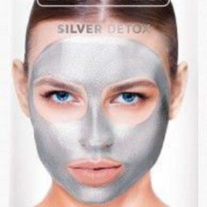 Bielenda Gold Detox detox&oczyszczenie maska metaliczna dla cery mieszanej i tlustej 8g