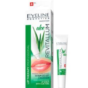 Eveline Revitallum głęboko nawilżające serum do ust z aloesem 8ml