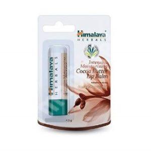 Himalaya Herbals Intensive Moisturising Lip Balm intensywnie nawilżający balsam do ust Masło kakaowe 4