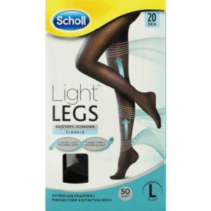 Light Legs rajstopy uciskowe 20 DEN czarne (L)
