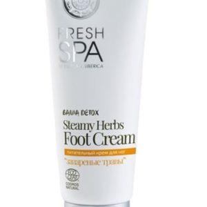 Natura Siberica Fresh Spa Staemy Herbs Foot Cream odżywczy krem do stóp 75ml