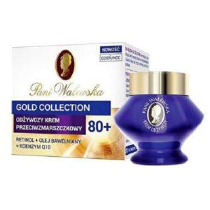 Pani Walewska Gold Collection Anti-Ageing Nourishing Cream odżywczy krem przeciwzmarszczkowy dzień/noc 80+ 50ml