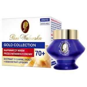 Pani Walewska Gold Collection Anti-Ageing Restorative Cream naprawczy krem przeciwzmarszczkowy 70+ dzień/noc 50ml