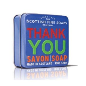 The Scottish Fine Soaps Thank You Soap In A Tin mydło w puszce 100g