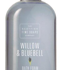 The Scottish Fine Soaps Willow & Bluebell Bath Foam kremowy żel pod prysznic 300ml