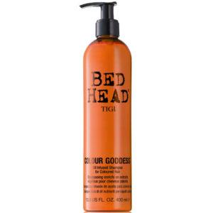 Tigi Bed Head Colour Goddess Oil Infused Shampoo For Coloured Hair szampon do włosów farbowanych dla brunetek 400ml
