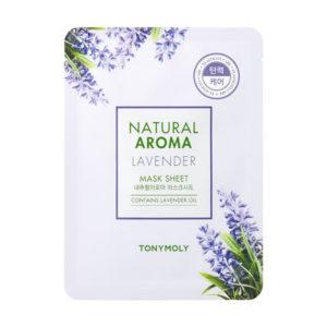 Tony Moly Natural Aroma Mask Sheet Lavender regenerująca maska do twarzy 21g
