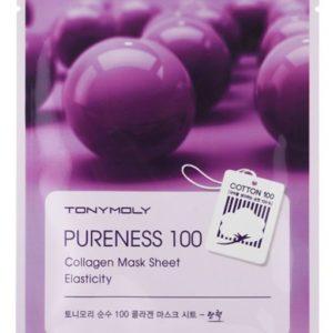 Tony Moly Pureness 100 Collagen Mask Sheet Elasticity poprawiająca elastyczność maska do twarzy z kolagenem 21ml