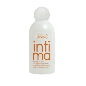 Ziaja Intima płyn kremowy do higieny intymnej z kwasem askorbinowym przeciw podrażnieniom 200ml