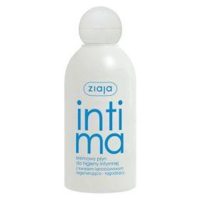Ziaja Intima płyn kremowy do higieny intymnej z kwasem laktobionowym regenerująco-łagodzący 200ml