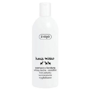 Ziaja Kozie mleko szampon do włosów kondycjonujący z keratyną włosy szorstkie bez połysku 400ml