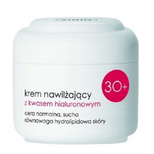 Ziaja Krem nawilżający z kwasem hialuronowym 30+ skóra sucha i normalna 50ml