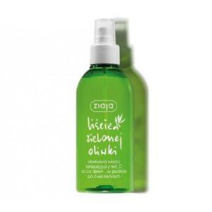 Ziaja Liście Zielonej Oliwki oliwkowa woda tonizująca z witaminą C w sprayu 200ml