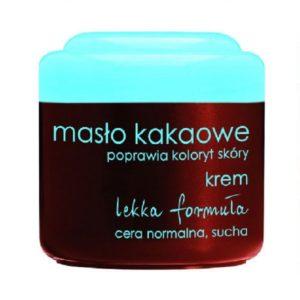 Ziaja Masło Kakaowe krem poprawiający koloryt skóry skóra normalna i sucha 50ml