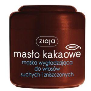 Ziaja Masło Kakaowe maska wygładzająca do włosów suchych i zniszczonych 200ml