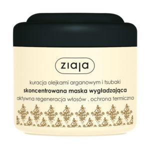 Ziaja Maska do włosów o właściwościach wygładzających włosy suche 200ml