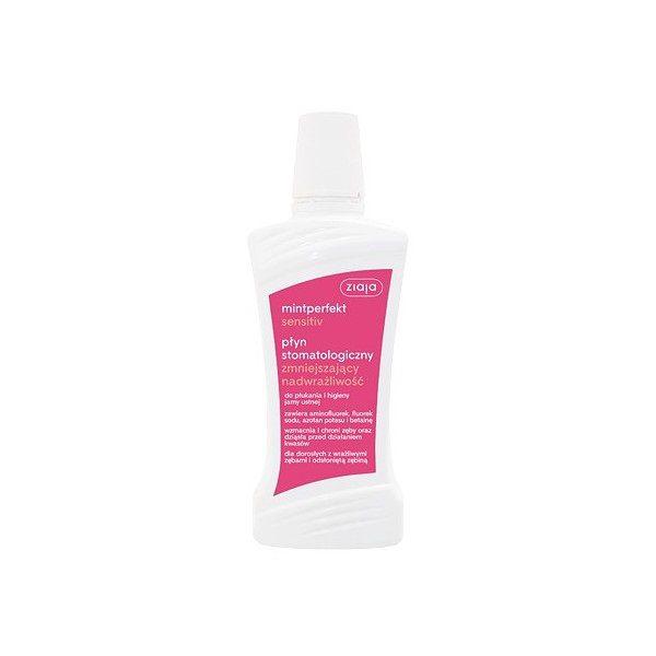 Ziaja Mintperfekt Sensitiv płyn stomatologiczny zmniejszający nadwrażliwość 500ml