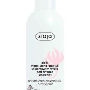 Ziaja Ylang Ylang i Paczuli kremowe mydło pod prysznic i do kąpieli pielęgnacja i orzeźwienie 200ml